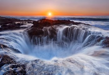 Thor's Well Fototapeta
