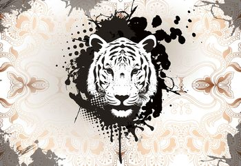 Tiger Abstract Fototapeta