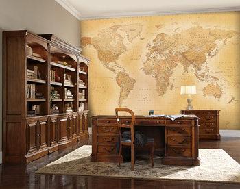 World Map - Old map Fototapeta