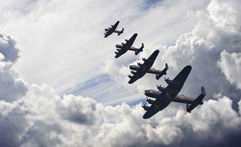 Autos Flugzeuge Transport Fototapete