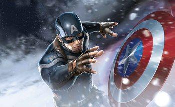 Avengers  - Captain America Fototapete