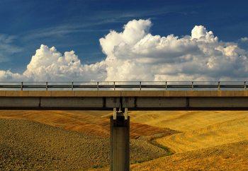 Between Earth & Sky Fototapete