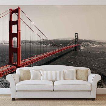 City Golden Gate Bridge Fototapete