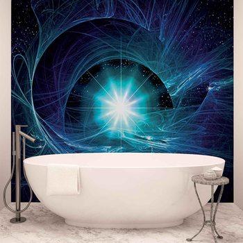 Cosmic Stern Abstrakt Fototapete