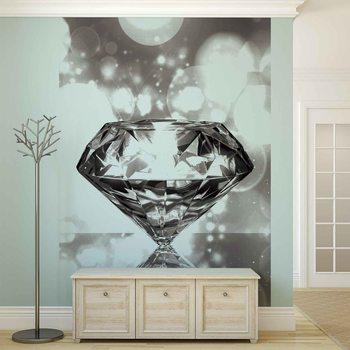 Diamant Fototapete