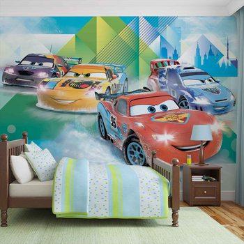 Disney Cars Lightning McQueen Camino Fototapete