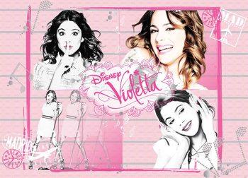 Disney Violetta Fototapete