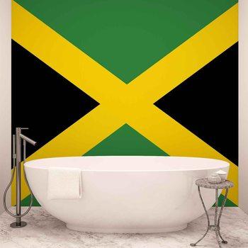 Flag Jamaica Fototapete