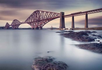 Forth Rail Bridge Fototapete