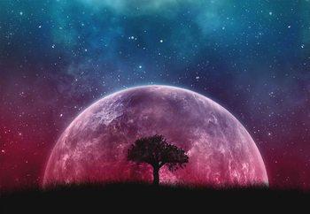 Galaxy Tree Fototapete