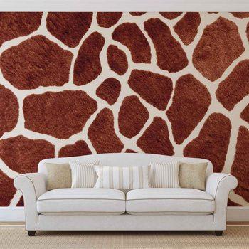 Giraffe Muster Abstrakt  Fototapete