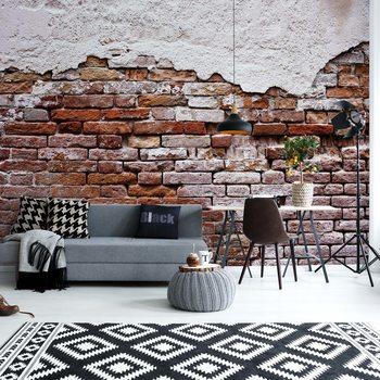 Grunge Brick Wall Fototapete