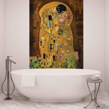 Gustav Klimt Kunst Kuss Fototapete