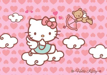Hello Kitty Fototapete