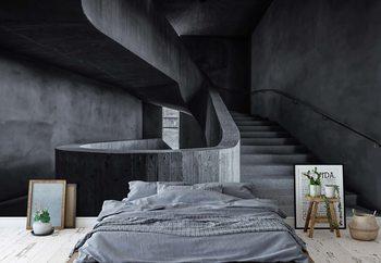 Im Treppenhaus Fototapete