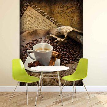 Kaffee Bohnen Fototapete