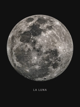 la luna Fototapete
