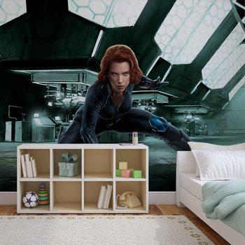Marvel Avengers Black Widow Fototapete