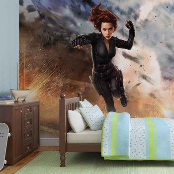 Marvel Avengers Black Widow Fototapete