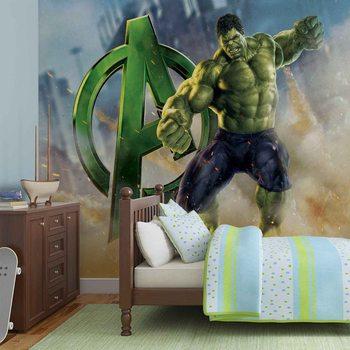 Marvel Avengers Hulk Fototapete