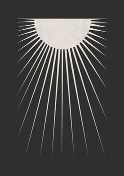 Minimal Moon Fototapete