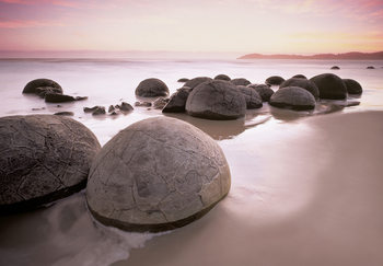 MOERAKI BOULDERS AT OAMARU Tapete