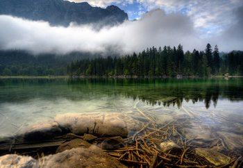 Mountain Lake Fototapete