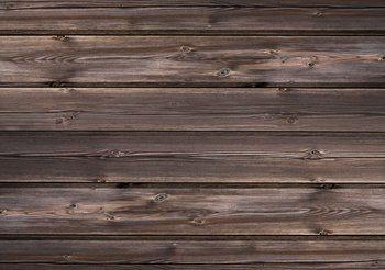 Muster Braun Holz Fototapete