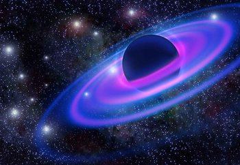 Neon Planet Fototapete