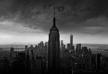 New York Rockefeller View Fototapete
