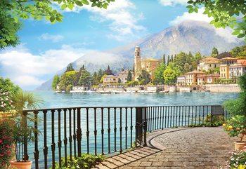 Paradise Lakeside View Fototapete