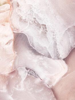Pink Marble Fototapete