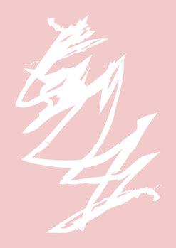 Pink storm Fototapete