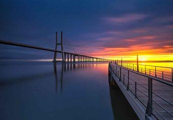 Ponte Vasco Da Gama Fototapete