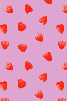 Raspberry heaven Fototapete