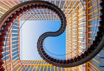 Roller Coaster Fototapete
