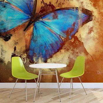 Schmetterling Kunst Fototapete