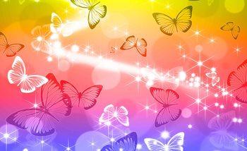 Schmetterlinge Fototapete