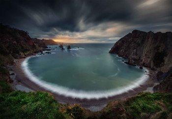 Silencio Storm Fototapete