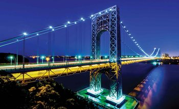 Stadt George Washington Bridge Fototapete