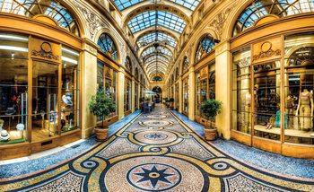 Stadt Mailand Passage Geschäfte Fototapete