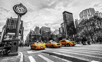 Stadt New York City Taxis Fototapete