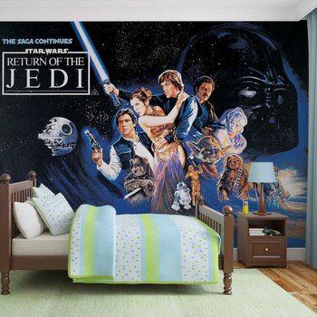 Star Wars Rückkehr Jedi Ritter Fototapete