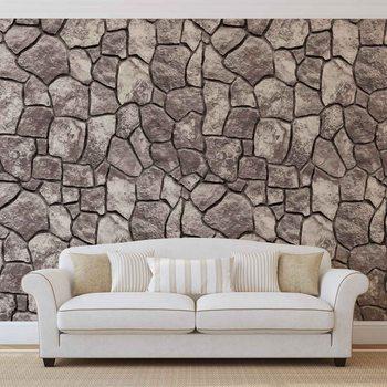 Stein Mauer Wand Fototapete