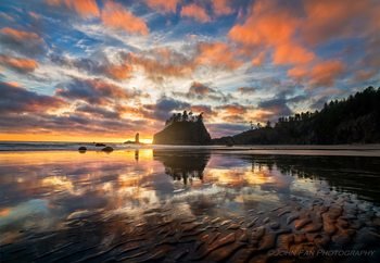 Sunset Symphony Fototapete