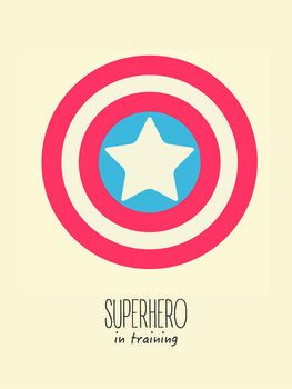 superheorin training Fototapete