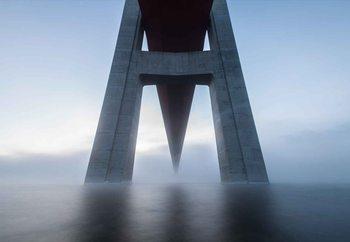 The High Coast Bridge Fototapete