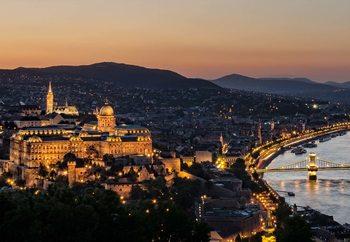 The Lights Of Budapest Fototapete