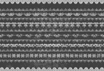 Vintage Lace Pattern Fototapete
