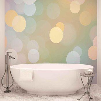 Abstract Bokeh Pastel Colour Fototapet